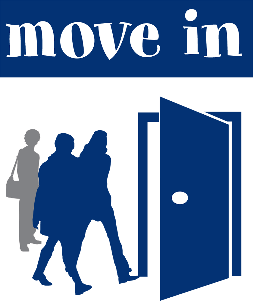 Logo move in